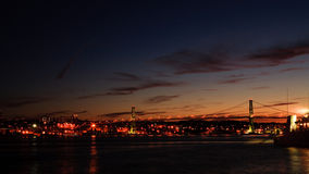 De Brug van Halifax Stock Fotografie
