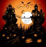 De brug van Halloween Royalty-vrije Stock Foto's