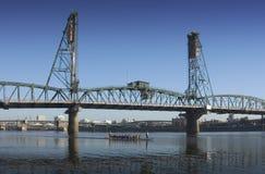 De brug van Hawthorne Stock Foto's