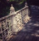 De Brug van het Central Park Stock Foto's