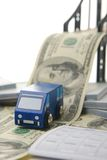 De brug van het geld Royalty-vrije Stock Afbeeldingen