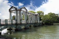 De brug van het glas Stock Fotografie