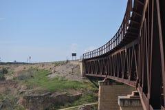 De brug van het ijzer royalty-vrije stock foto