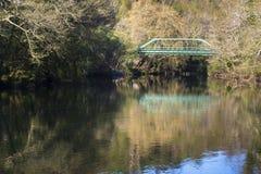 De brug van het ijzer stock afbeeldingen