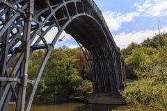 De brug van het ijzer Royalty-vrije Stock Afbeeldingen