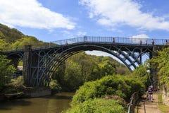 De brug van het ijzer Stock Afbeelding