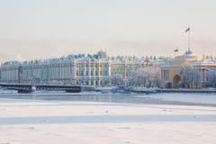 De brug van het paleis stock fotografie