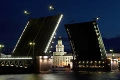 De brug van het paleis Royalty-vrije Stock Afbeelding