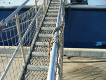 De brug van het schip royalty-vrije stock foto's