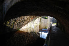 De brug van het Skiptonkanaal Royalty-vrije Stock Afbeeldingen