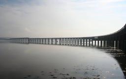 De Brug van het Spoor van Tay, Dundee stock afbeeldingen