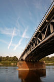 De brug van het staal Stock Foto's