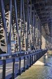 De brug van het staal in prtland Oregon Stock Afbeelding