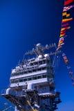 De Brug van het Vliegdekschip stock foto's