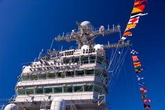 De Brug van het Vliegdekschip Stock Foto