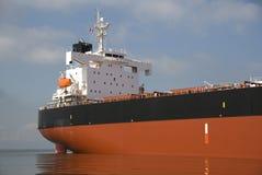 De Brug van het vrachtschip stock afbeeldingen