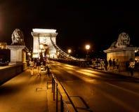 De brug van Hongarije Stock Foto