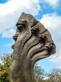 De Brug van 7 Hoofdennaga in het Historische Park van Pimai Stock Afbeelding