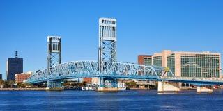 De brug van de hoofdstraat, Jacksonville, Florida stock afbeelding