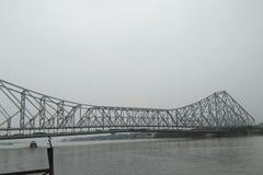 De Brug van Howrah van Kolkata Stock Afbeeldingen