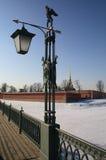 De Brug van Ioannovsky stock afbeelding