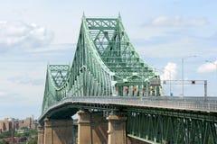 De brug van Jacques Cartier stock fotografie