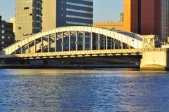 De brug van Kachidoki Stock Foto