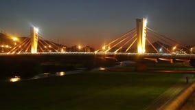 De brug van kan Peixauet stock video