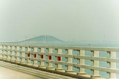 De brug van Koningsfahd causeway royalty-vrije stock afbeeldingen