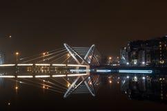 De brug van Lazarevsky royalty-vrije stock foto