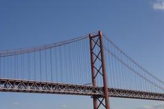 De brug van Lissabon Stock Afbeeldingen