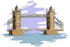 De Brug van Londen Vector Illustratie