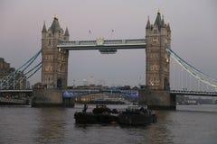 De Brug van Londen in het Verenigd Koninkrijk Royalty-vrije Stock Afbeelding