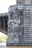 De Brug van Longfellow in Boston 3 stock fotografie