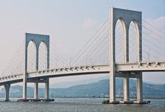 De brug van Macao Stock Afbeelding
