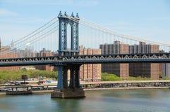 De Brug van Manhattan Stock Afbeeldingen
