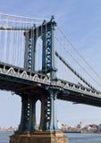 De Brug van Manhattan Stock Foto