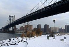 De Brug van Manhattan Stock Foto's