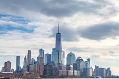 De brug van Manhattan en van Brooklyn royalty-vrije stock foto's