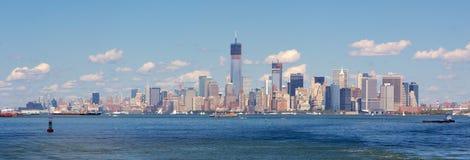 De brug van Manhattan en van Brooklyn Stock Fotografie