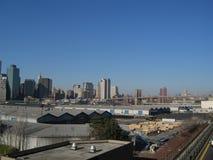 De brug van Manhattan en van Brooklyn Stock Afbeeldingen