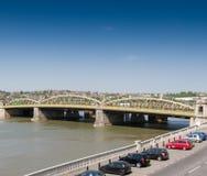 De Brug van Medway van de rivier, Rochester Stock Foto