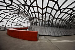 De brug van Melbourne Webb Royalty-vrije Stock Fotografie