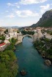 De brug van Mostar Stock Foto's