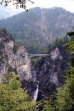 De brug van Neuschwanstein Royalty-vrije Stock Afbeelding