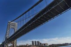 De brug van New York stock fotografie