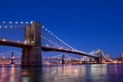 De brug van New York Royalty-vrije Stock Foto's