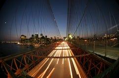 De brug van New York, Brooklyn Royalty-vrije Stock Afbeeldingen