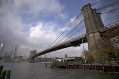 De Brug van New York Brooklyn Stock Fotografie
