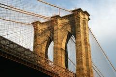 De Brug van New York Brooklyn Stock Afbeeldingen